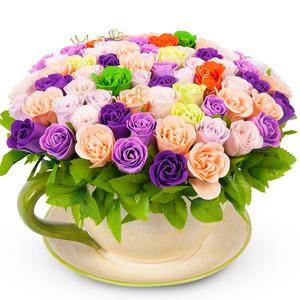 알록달록비누꽃화기(예약상품)