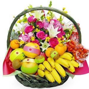 사랑을가득히(과일꽃바구니)