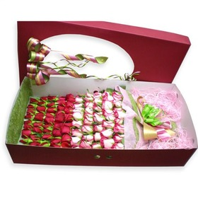 장미혼합꽃박스