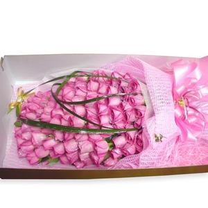 핑크장미100송이박스