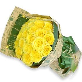 노란우산속의그녀