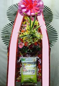 축하쌀화환(10KG)
